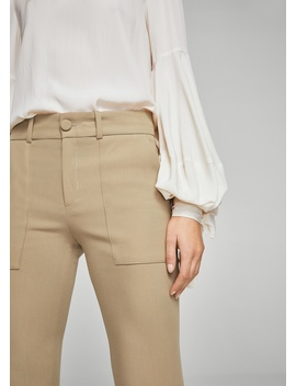 Ausgestellte Hose by Mango