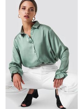 Satin Shirt by Na Kd