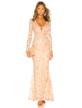 X Revolve Genner Gown by Michael Costello