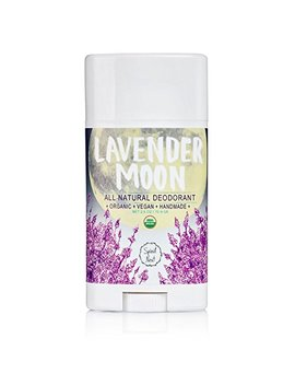 Spirit Nest Lavender Moon Organic, 100 Percents Natural, Vegan, Aluminum Free Deodorant, All Day Protection, 2.5oz by Spirit Nest