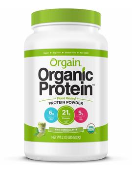 Orgain Organic Plant Based Protein Powder, Iced Matcha Latte, Vegan, Non Gmo, Gluten Free, 2.03 Pound, 1 Count, Packaging May Vary by Orgain