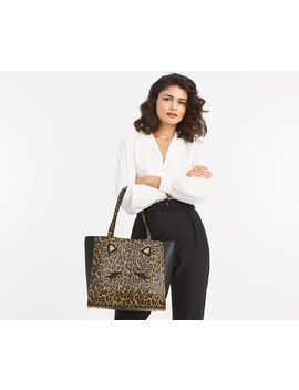 Leopard Tote Bag by Oasis