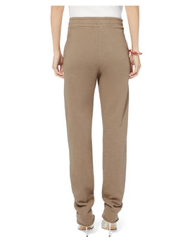 Dark Tan Zip Trousers by Cotton Citizen