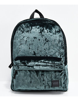 Vans Deana Iii Darkest Spruce Velvet 22 L Backpack by Vans