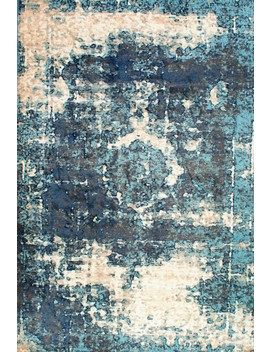 Distressed Foggy Medallion Rug by Rugs Usa