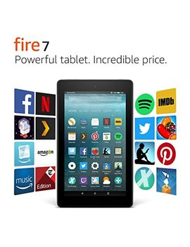 "Fire 7 Tablet, 7"" Display, 16 Gb, Black by Amazon"