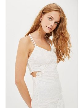Tall Double Lace Mini Dress by Topshop