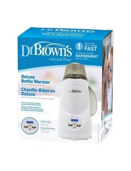 Dr. Brown's Deluxe Bottle Warmer | 1 Button Start | Lcd Control Panel (Bottle Warmer) by Dr. Brown's