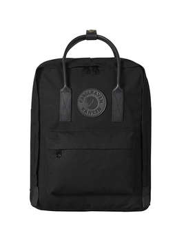 Fjällräven Kanken 2 Leather Trim Backpack, Black by Fjällräven