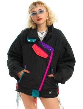 Vintage 80's Europa High Jacket   One Size Fits Many by Tunnel Vision
