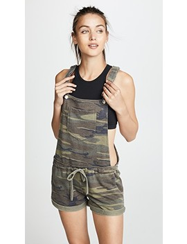 The Camo Short Overalls by Z Supply