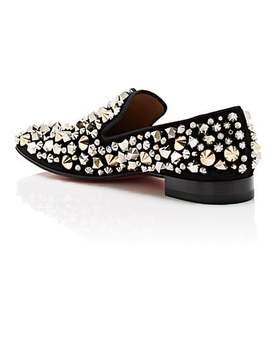Dandelion Suede Venetian Loafers by Christian Louboutin