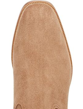 Quico Flat Suede Jodhpur Boots by Christian Louboutin