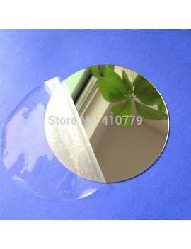 Sample Acrylic Wall Mirrors Round Sheet Plastic Pmma Glass Hotel Decorative Lens Miroir Mural Diy Plak 10pcs/Lot Diameter100x1mm by Ali Express