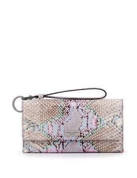 Uptown Out & About Snake Organizer Wallet by Henri Bendel