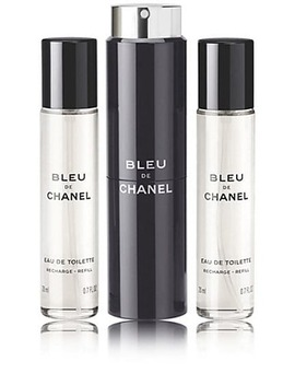 Bleu De Chanel Eau De Toilette Travel Vials by Chanel