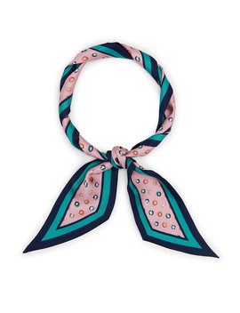 Whimsy Dots Skinny Mini Scarf by Henri Bendel
