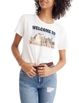 Welcome To The Badlands Whisper Cotton Crewneck Tee by Madewell