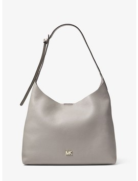 Junie Medium Leather Shoulder Bag by Michael Michael Kors