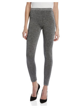 Silver Lurex Lounge Pants by Sandro