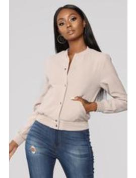 Leyle Jacket   Beige by Fashion Nova