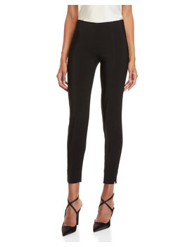 Black High Waisted Cigarette Pants by Antonio Berardi