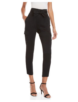 Black Adam High Waisted Cargo Pants by A.L.C.