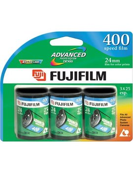 Fujifilm Advanced 400 Speed 25 Exposure Aps Film   3 Pack by Fujifilm