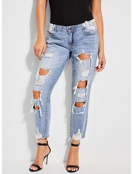 Utility Tomboy Jeans by Guess