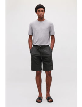 Tailored Drawstring Shorts by Cos