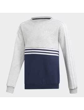 Authentics Crew Sweatshirt by Adidas