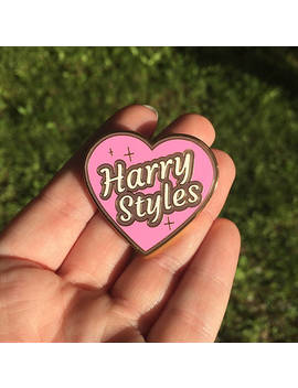 Seconds Harry Styles Heart Enamel Pin (W/ Minor Flaws) by Millypins