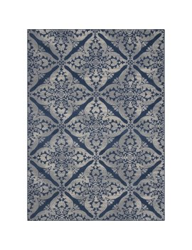 Andover Mills Anzell Blue/Gray Area Rug & Reviews by Andover Mills