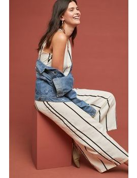 Sara Striped Jumpsuit by Sancia