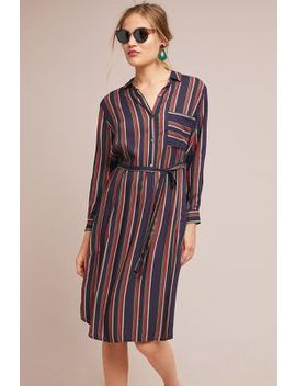 Pero Striped Shirtdress by Velvet By Graham & Spencer