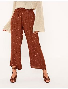 Wide Leg Crop Pant by Glassons