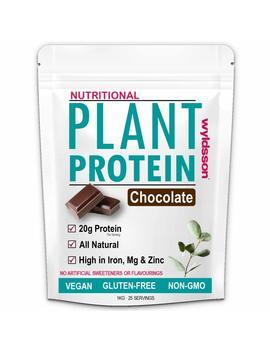 Vegan Protein Powder (1kg) With Organic Plant Protein | High In Iron, Magnesium & Zinc | No Added Sugar | Gluten Free | Dairy Free by Amazon