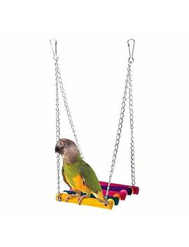 Mapletop Pet Swing Bird Parrot Parakeet Budgie Cockatiel Cage Hammock Swing Toy Hanging Toy by Amazon