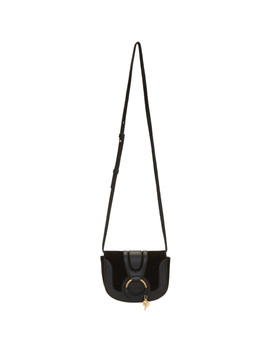 Black Mini Hana Shoulder Bag by See By ChloÉ