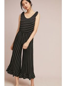 Parisian Striped Jumpsuit by Ella Mara