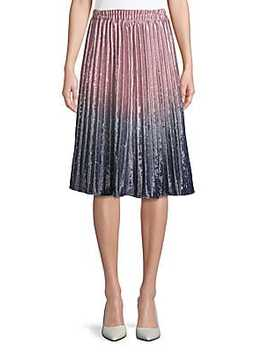 Paisley Midi Skirt by Haute Hippie