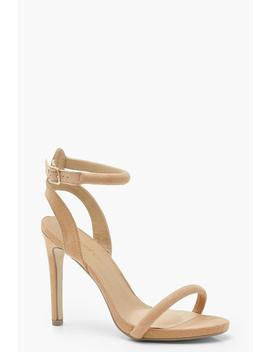 Skin Tone Two Part Heels by Boohoo
