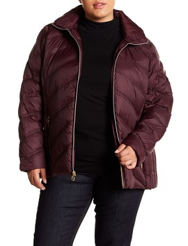 Packable Quilted Down Jacket (Plus Size) by Michael Michael Kors