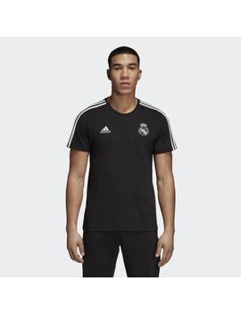 Real Madrid 3 Stripes Tee by Adidas