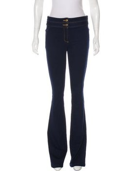 Veronica Beard Mid Rise Wide Leg Jeans by Veronica Beard