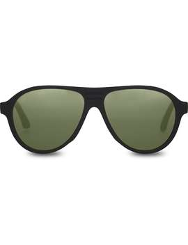 Traveler By Toms Zion Matte Black Bottle Green Polarized by Toms