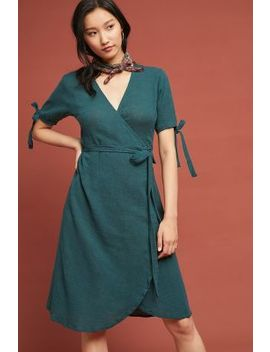 Parson Wrap Dress by Rue Stiic