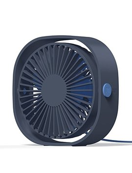 Amuse Nd Usb Personal Fan, Usb Power Fan Ultra Quiet Design Third Gear Speed Mini Fan For Office Desktop by Amuse Nd