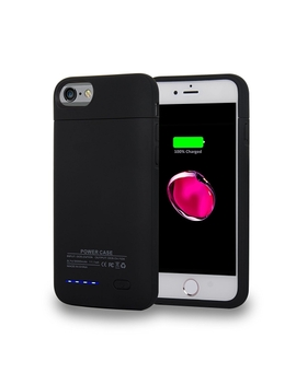 Navor Magnetic Detachable Extended Battery Protective Case 3000m Ah For I Phone 7 , I Phone 6 / 6s (4.7 Inch)   Black by Best Buy