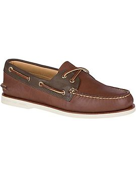 Men's Gold Cup Authentic Original Chevre Boat Shoe by Sperry